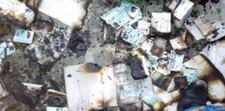 PVCs Burnt