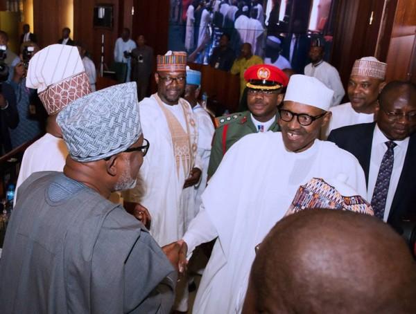 Buhari-gov with Governors