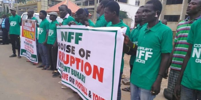 NFF Protest