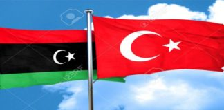 Turkey-Libya-flags