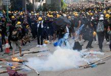 Hong Kong riot