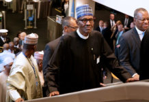 Buhari in UN