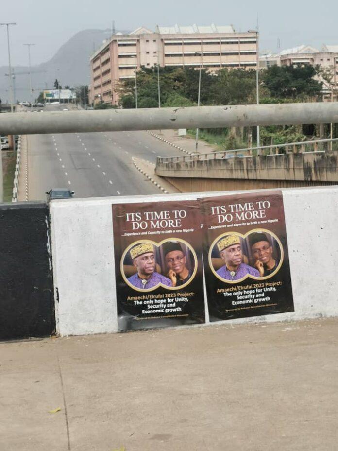 Rotimi Amaechi posters